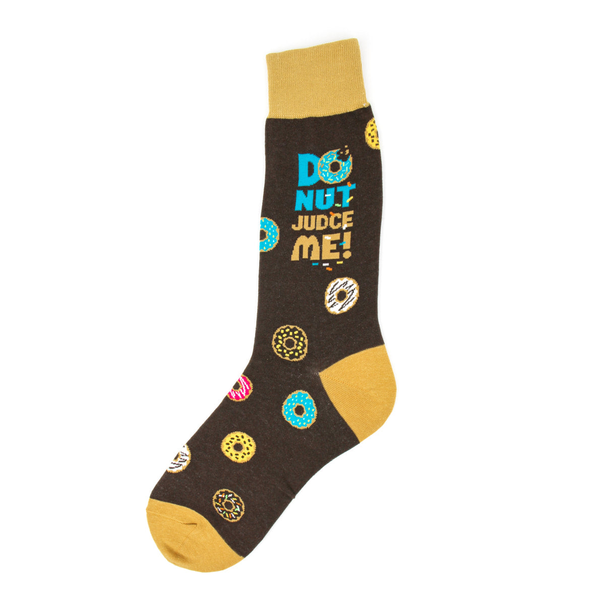 Foot Traffic - MEN'S DONUT JUDGE ME SOCKS