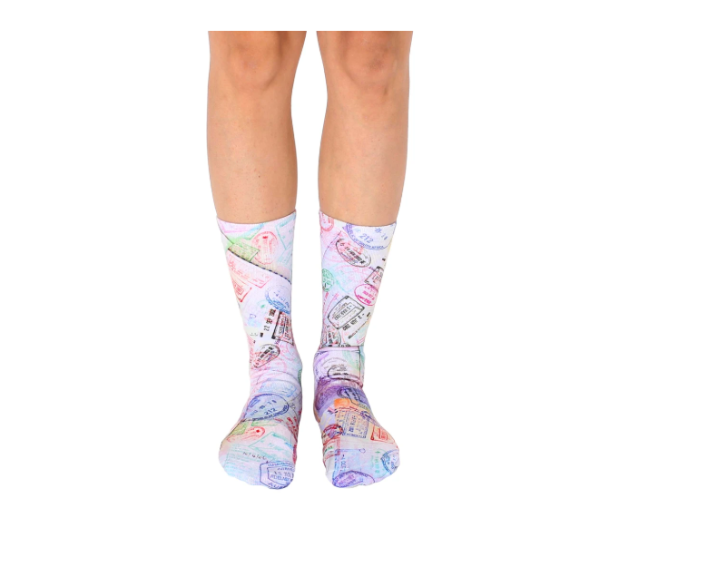 Living Royal - Crew Socks - Travel