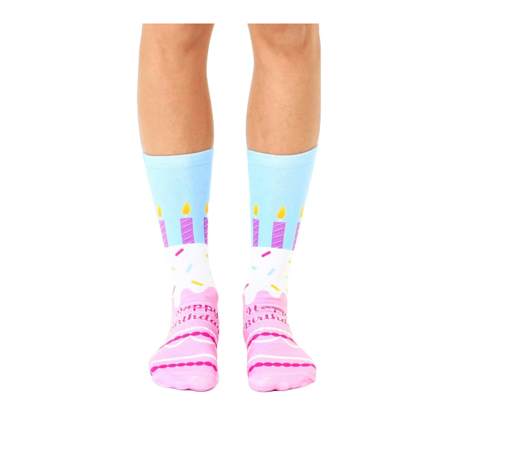 Living Royal - Crew Socks - Happy Birthday