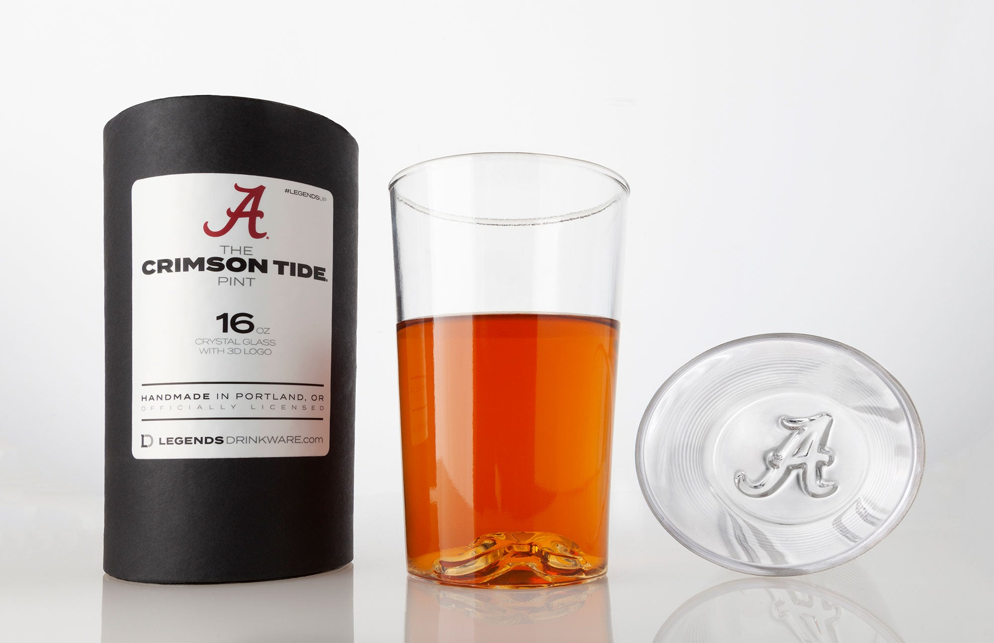 The Alabama Crimson Tide 16 oz Pint