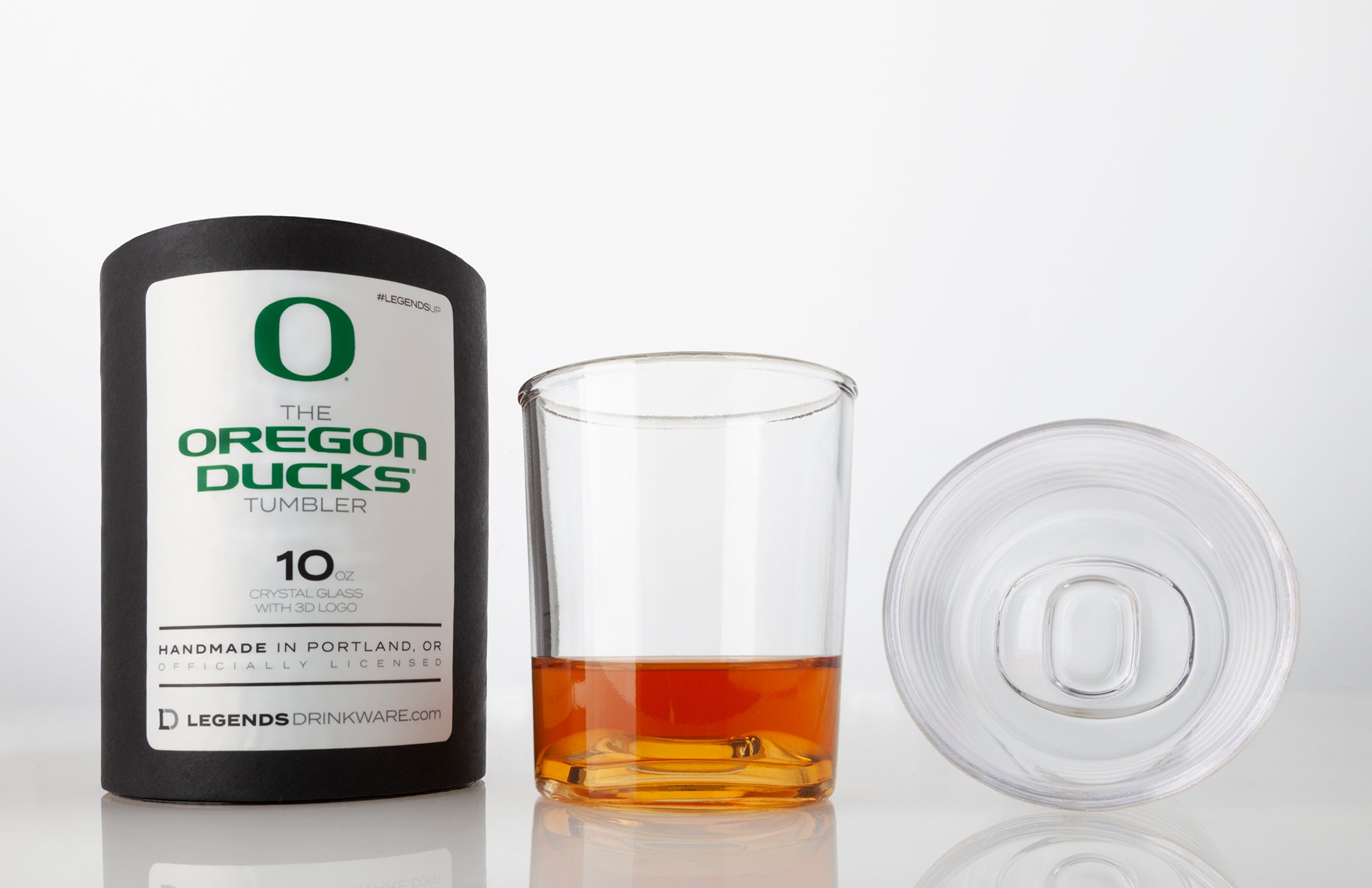 The Oregon Ducks 10 oz Tumbler