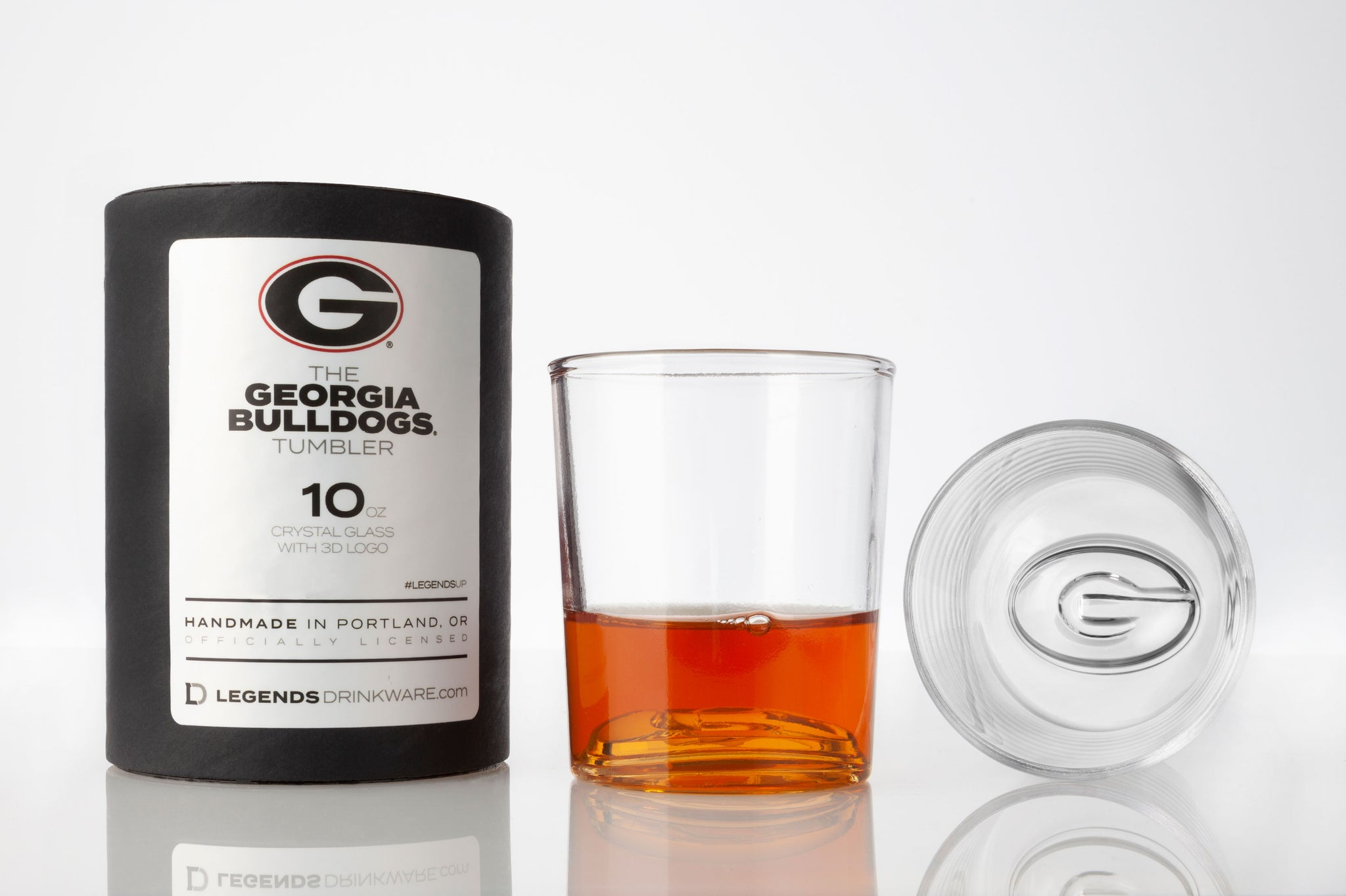 The Georgia Bulldogs 10 oz Tumbler