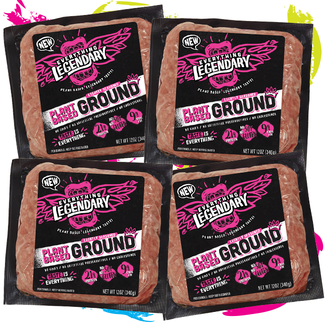 4 packs of Lightly Seasoned Ground + FREE SHIPPING!!!