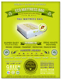 4 Full Mattress Bags. Eco Friendly Bed Protection. Ideal for Packing, Moving, Storage and Transportation. Proudly Made In America!