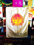 Visual of Aloha Hula Girl Eco Laundry Bag. Extra Large Laundry Bag Made From Eco Canvas.