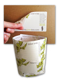 150 Extra Large Eco Moving Labels. Grow Flowers When You're Done Moving! Just Plant in Soil!