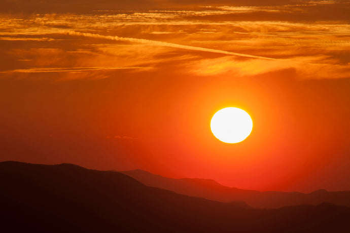 Cowee Mountain Sunset (Landscape)