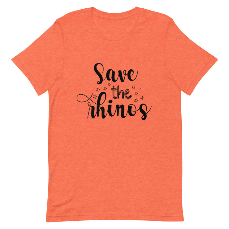 Save the Rhinos Tee Shirt - CozyRhino