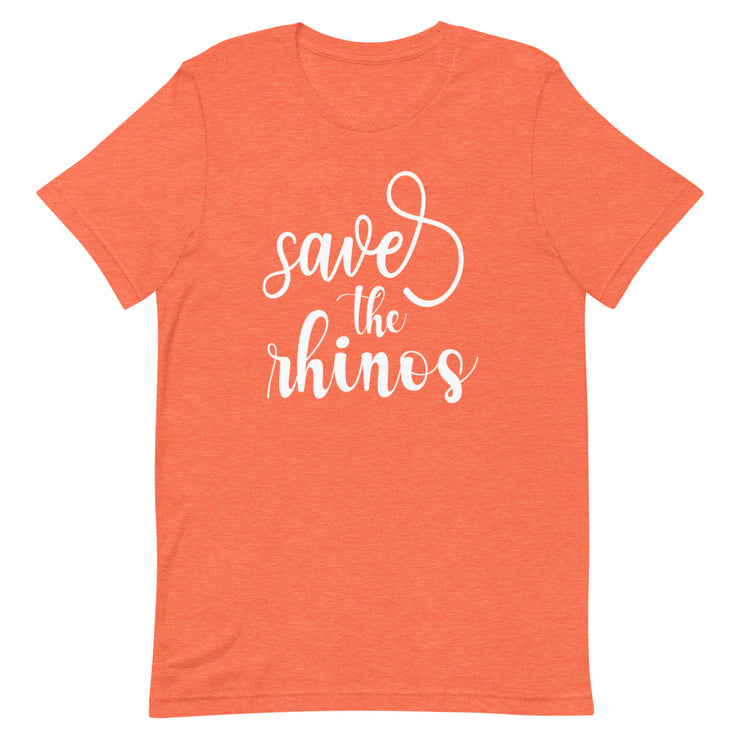 Save The Rhinos Tee - CozyRhino