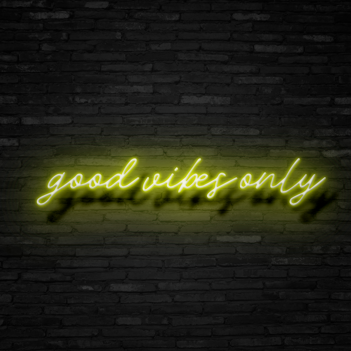 Good Vibes Only - Neon Sign