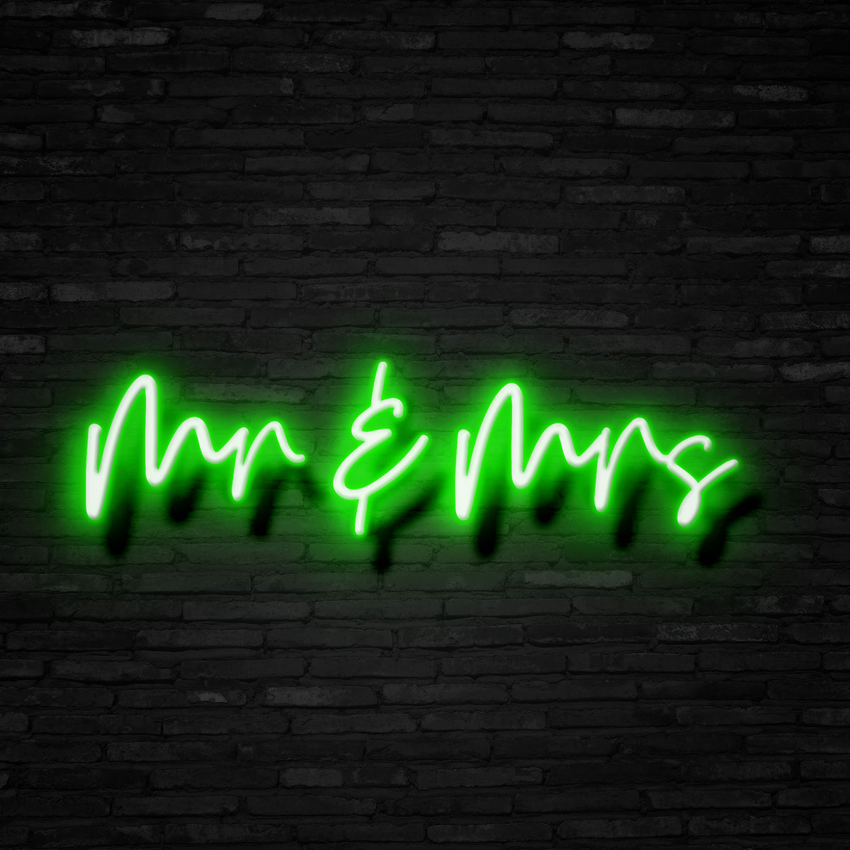 Mr. & Mrs. - Neon Sign