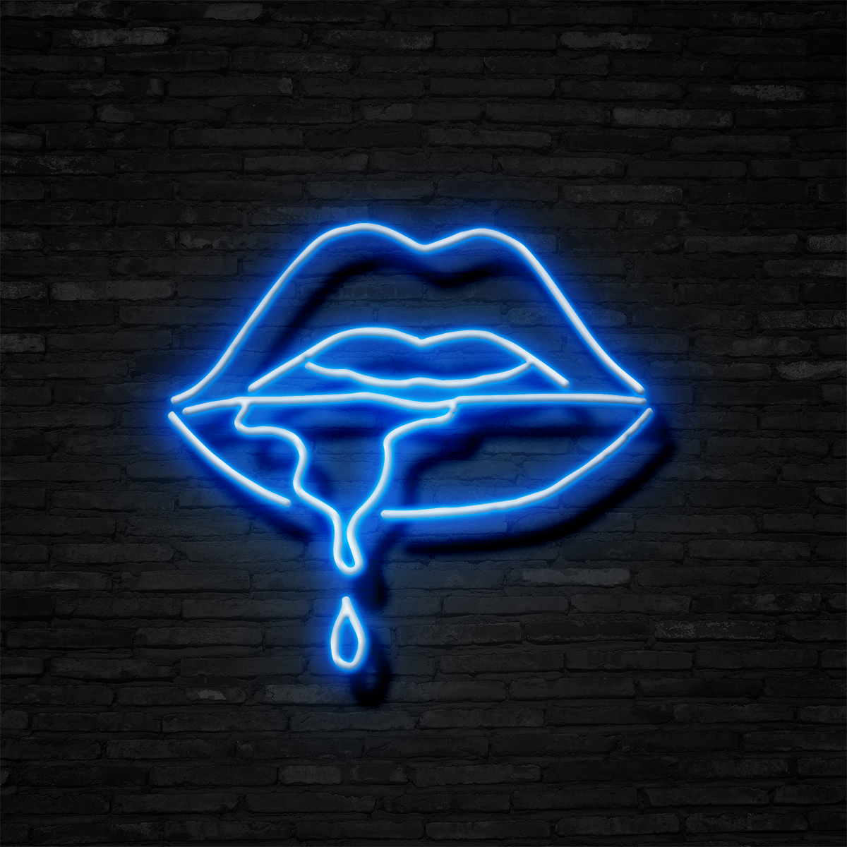 Female Lips - Neon Sign