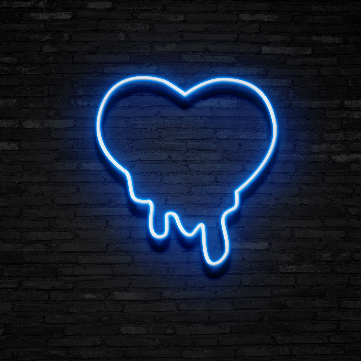Melting Heart - Neon Sign