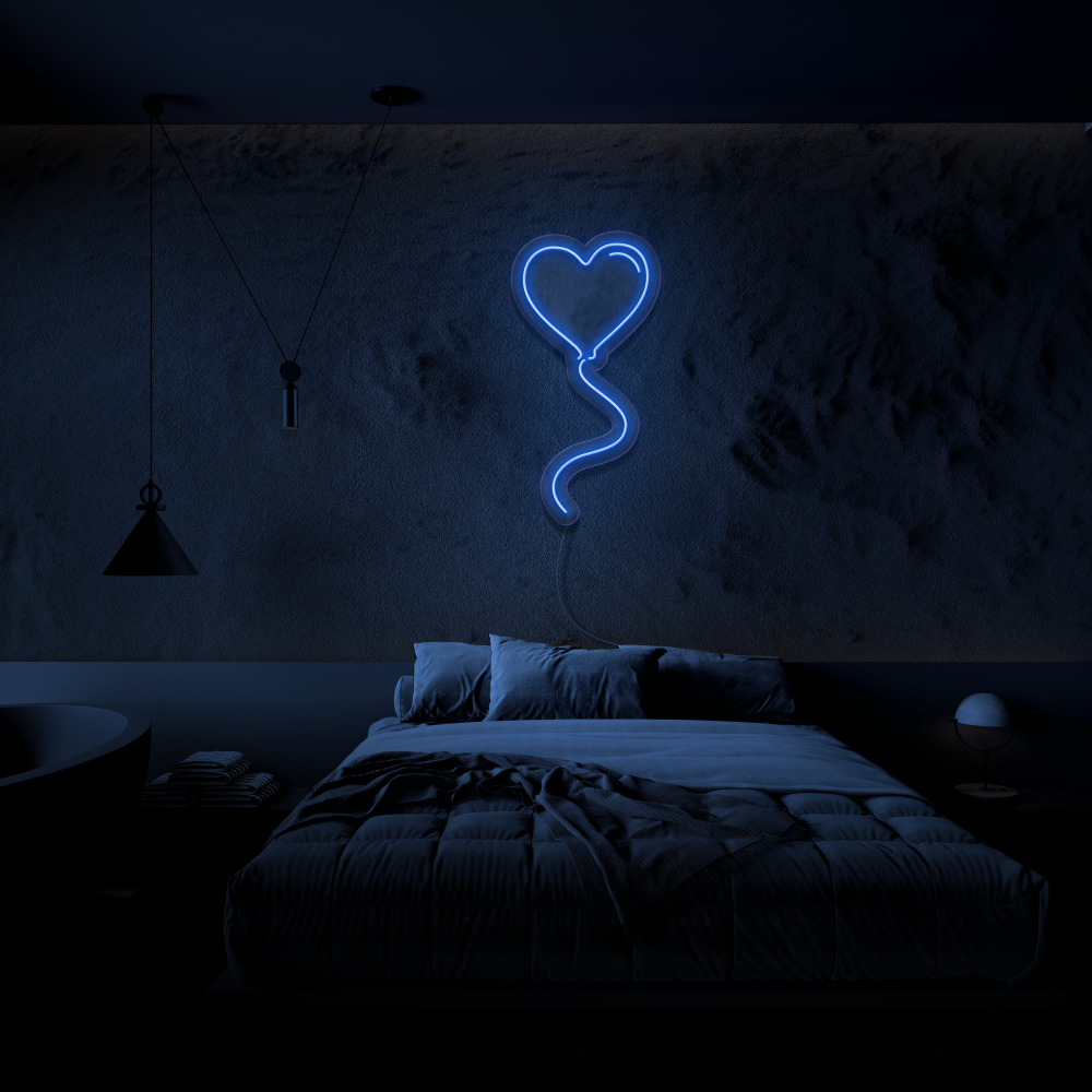 Love Balloon - Neon Sign