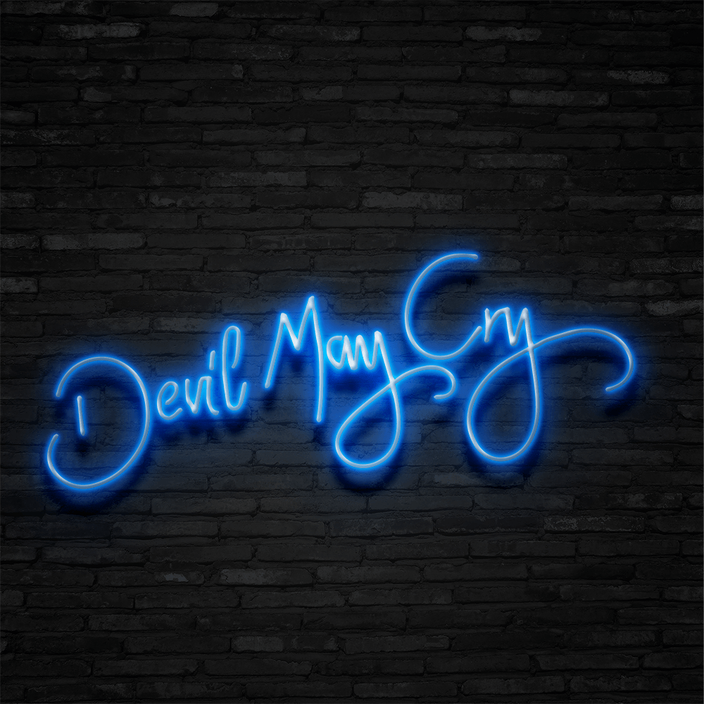 Devil May Cry - Neon Sign