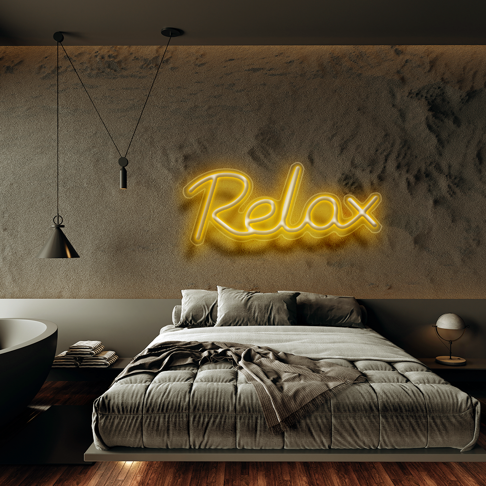 Relax - Neon Sign