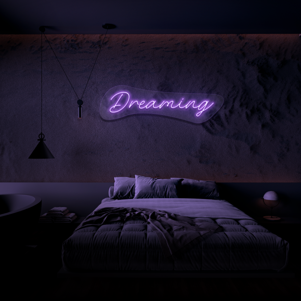 Dreaming - Neon Sign