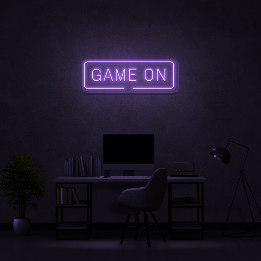 Game On - Neon Sign