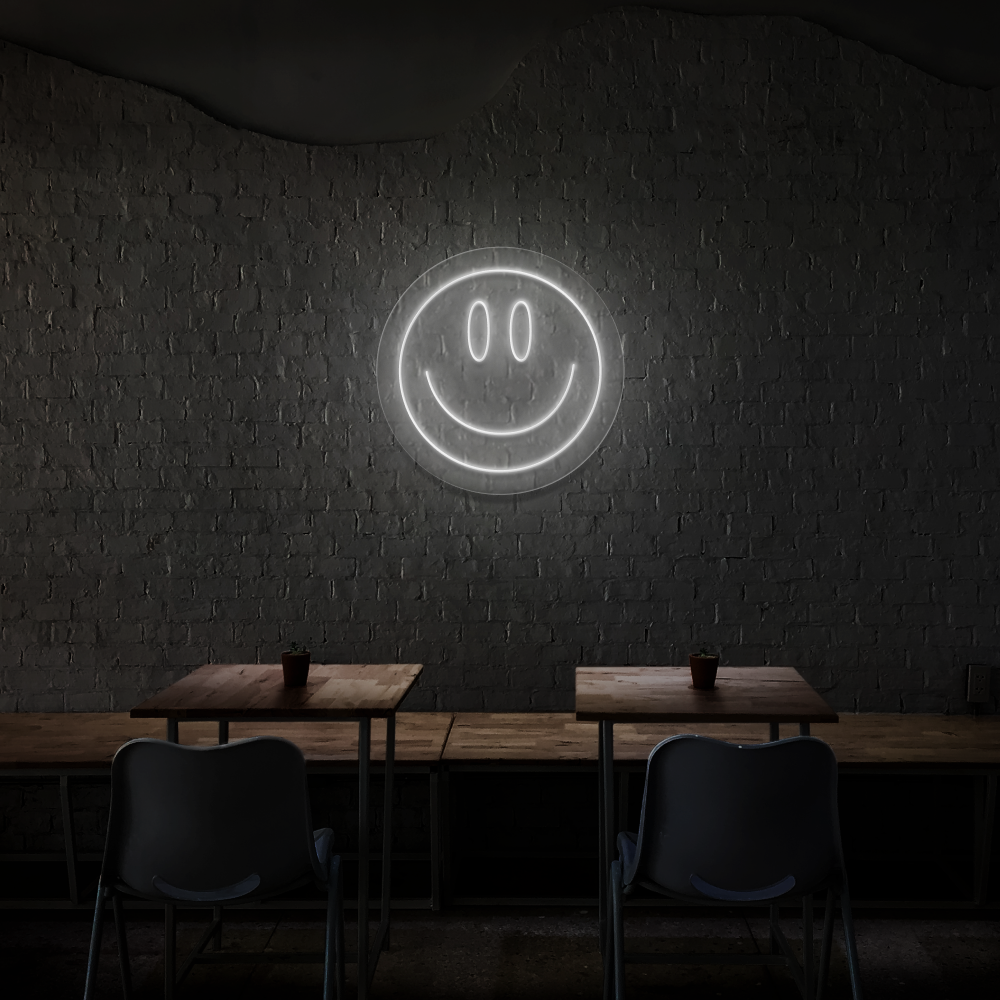 Smiley - Neon Sign