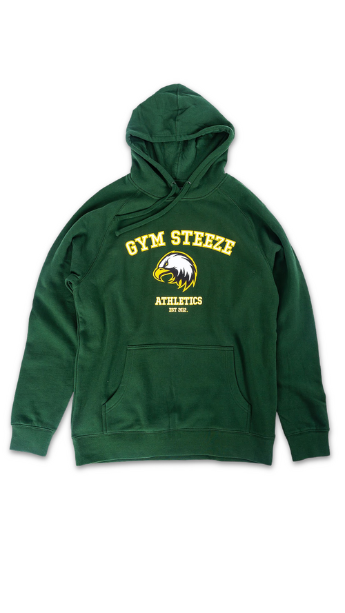 ATHLETICS HOOD - GREEN