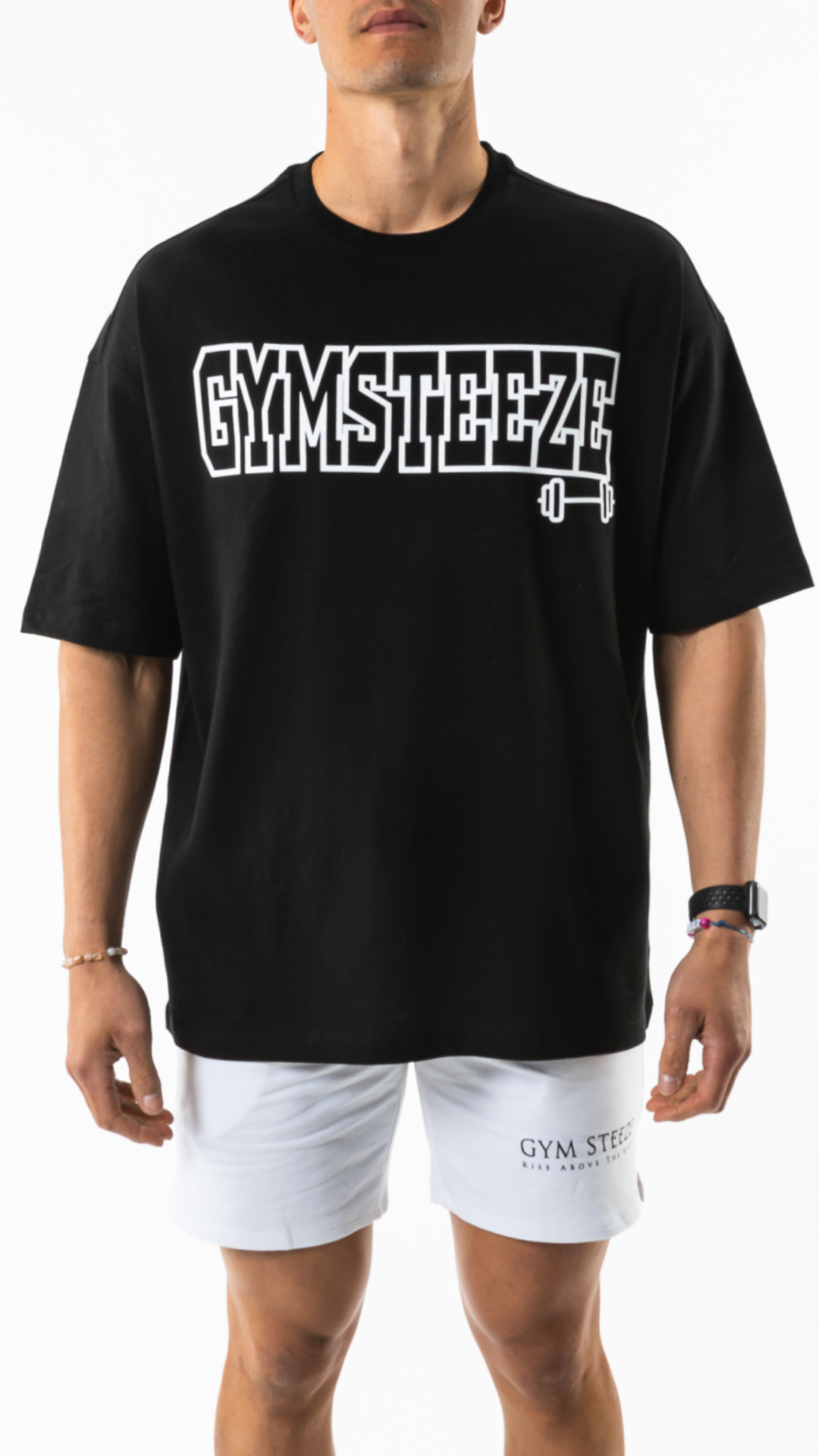 1. COLLEGIATE TEE - BLACK