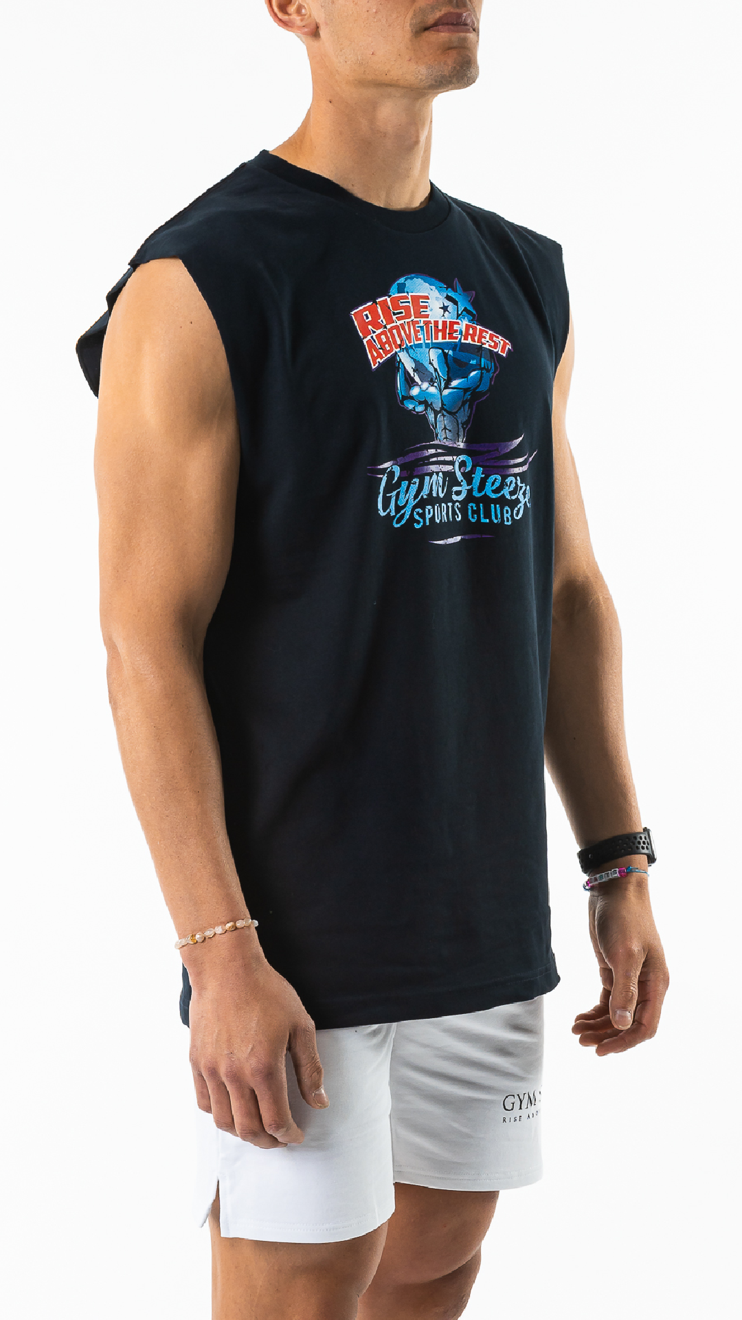6. WEIGHT OF THE WORLD SLEEVELESS - NAVY