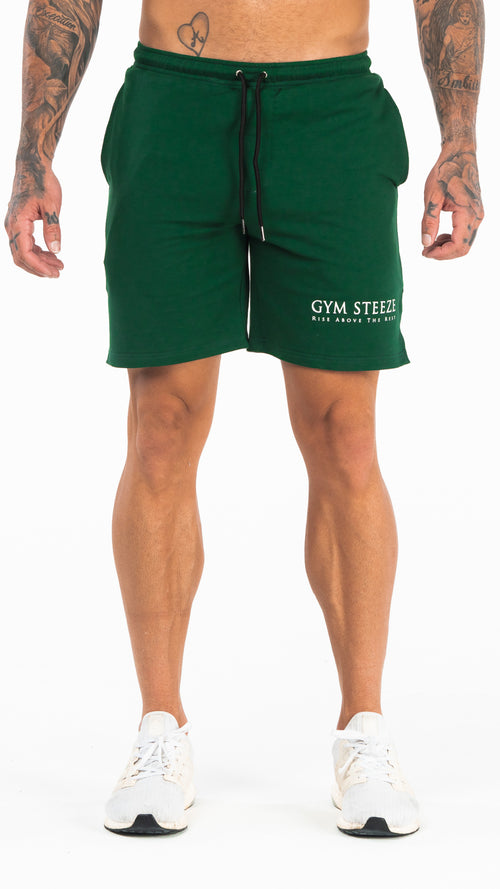 9. V2 TRACK SHORTS - GREEN (NEW IN)