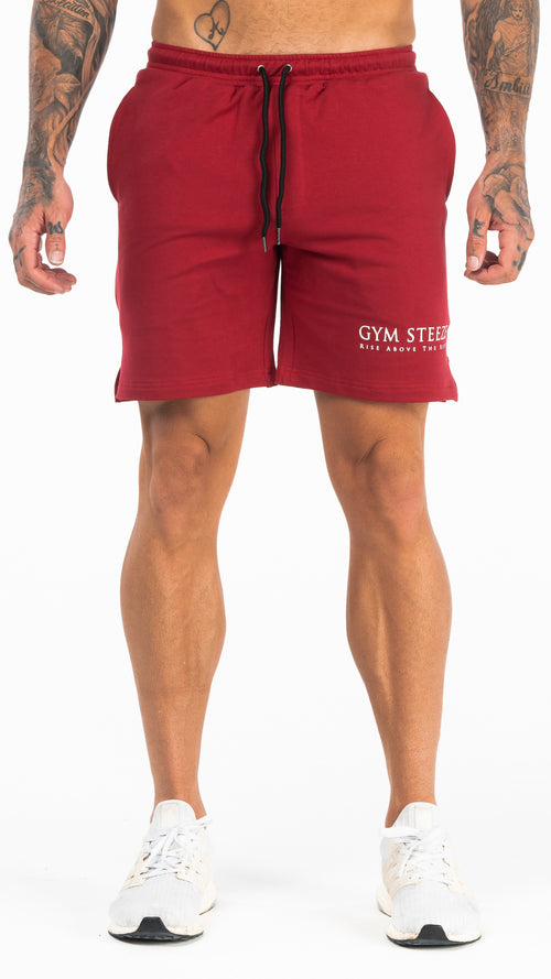 9. V2 TRACK SHORTS - MAROON (NEW IN)