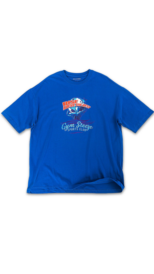 9. WEIGHT OF THE WORLD TEE - BLUE