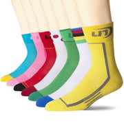 LIN 7 Pack Sports Cycling Running Training Socks