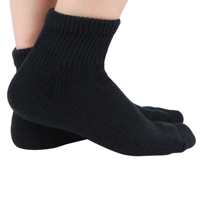 MD Cotton Non-Binding Warm Cushion Ankle Socks