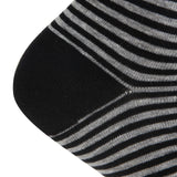 AAS Cotton Dress Comfort Stripe Crew Socks