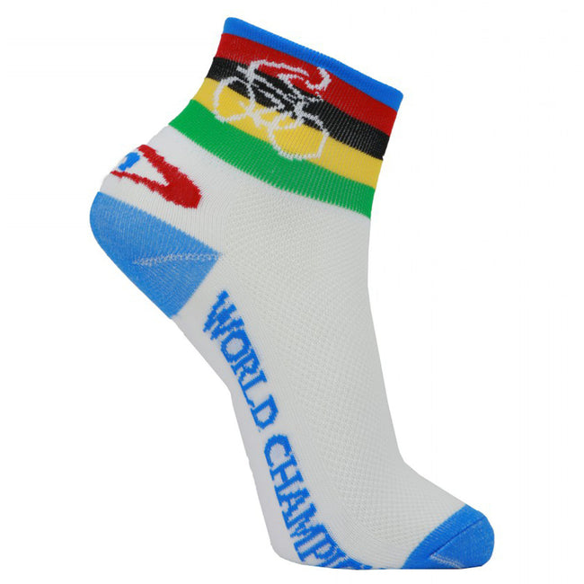 LIN Tour de France CoolMax Cycling Socks Blue Shirt