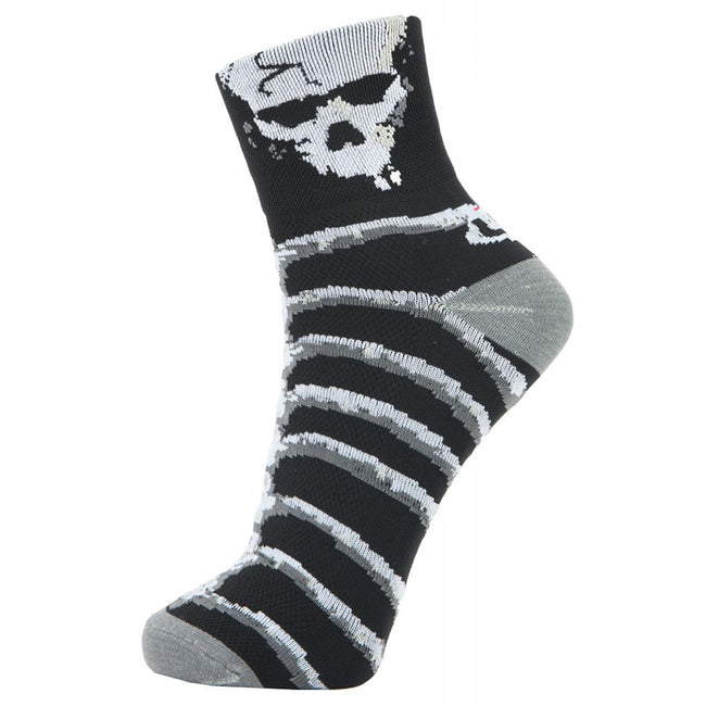 LIN Sports Cycling Hiking Socks Skeleton