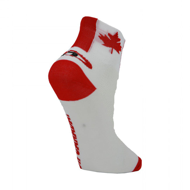 LIN Unisex Breathable Sports Cycling Socks Canada Flag