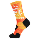 360 Print Cushion Basketball Athletic Sports Flag Socks