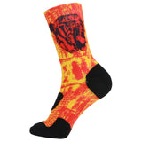 360 Print Cushion Basketball Athletic Outdoor Socks
