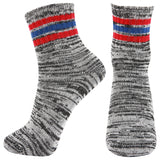 AAS Mixed Color Thick Warm Wool Socks 5Pack