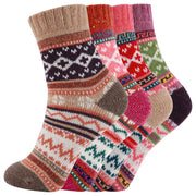 AAS Fun Colorful Wool Warm Knitting Socks Christmas