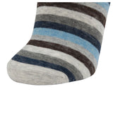 AAS Cotton Dress Crew Socks Welt Funky Stripe