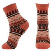 AAS Mixed Color Vintage Crew Knit Warm Socks