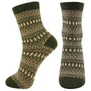 AAS Wool Mixed Color Vintage Crew Thick Socks