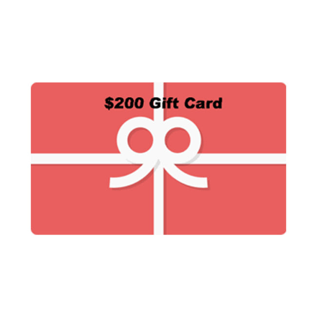 $200 DIGITAL GIFT CARD NO EXPIRATION DATE