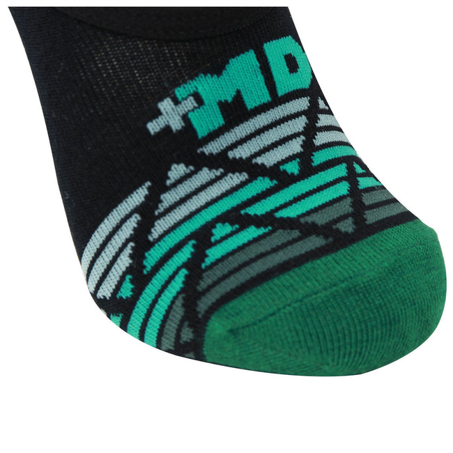 MD Bamboo No Show Liner Socks Moisture Wicking Non Slip Invisible