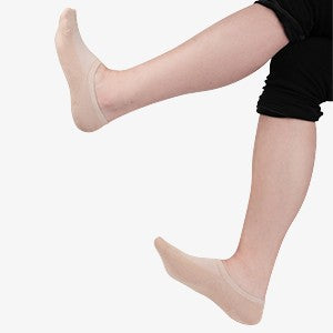 MD Wicking No Show Bamboo Socks Non Slip (2 Pairs)