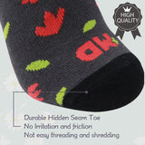 MD Bamboo No Show Liner Invisible Socks with Non Slip for Flats
