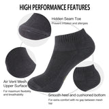 MD Moisture Wicking Bamboo Socks Low-cut (2 Pairs)