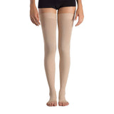 MD 23-32mmHg Microfiber Compression Thigh High Stockings