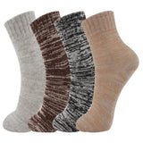 AAS Mixed Color Vintage Crew Socks Christmas 4Pack
