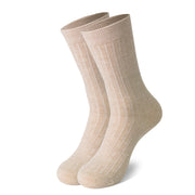 MD Cotton Non-Binding Soft Circulation Crew Socks (2 Pairs)